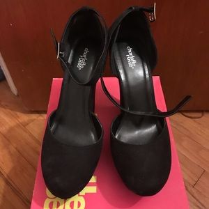 Black Platform Heels Charlotte Russe sz 10 OFFER